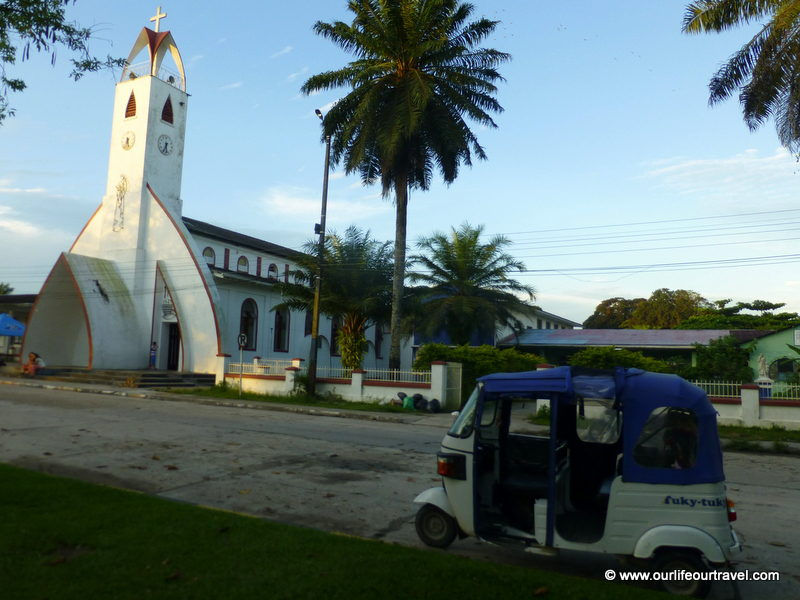 Church in Leticia, Colombia.