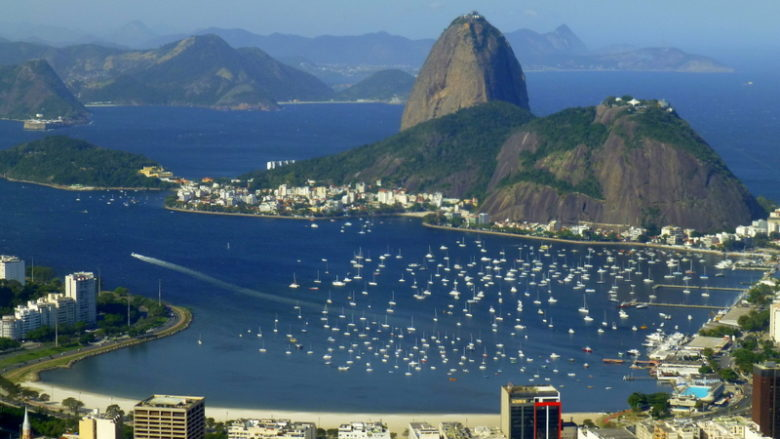 View to the Bay, Rio de Janerio, Brazil