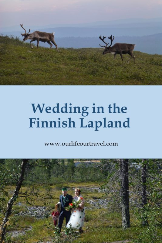 Notes from a Finnish Wedding. Nature, Lapland, reindeer and nature.