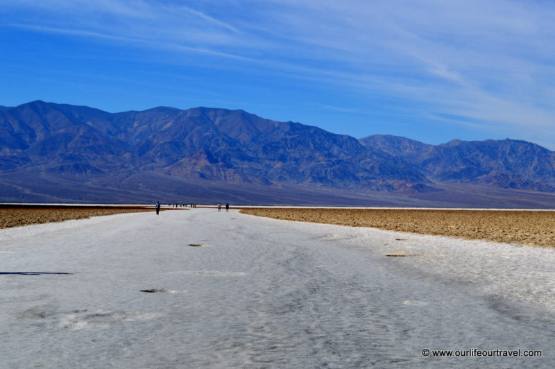 Badwater Basin & salt flats - Death Valley National Park, USA
