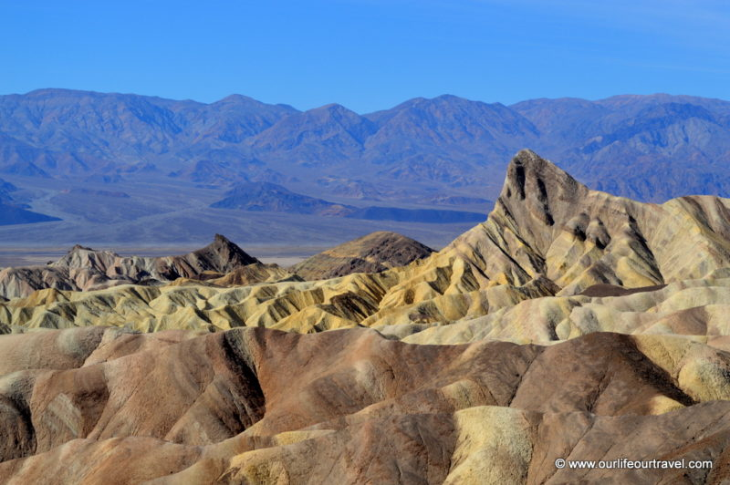 Zabriskie Point - Death Valley National Park, USA