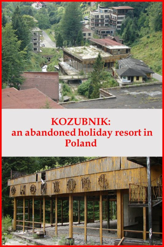 Kozubnik: abandoned holiday resort in Poland