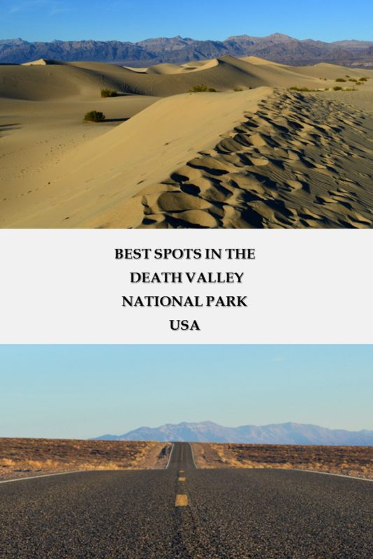 Best spots to stop by at the Death Valley National Park, USA