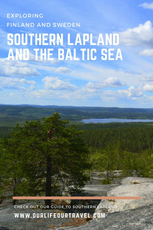 Exploring Southern Lapland from Tornio: rapids, hills and the Baltic Sea