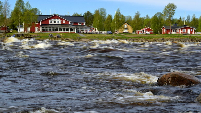 The biggest rapids in Finland
