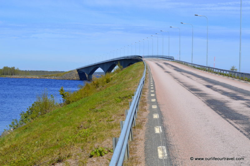 Main bridge to Seskarö