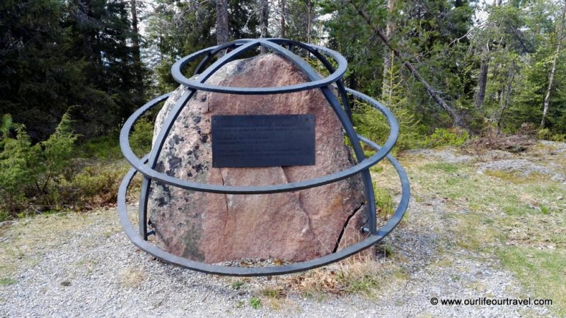 Monument of Struve Geodetic Arc