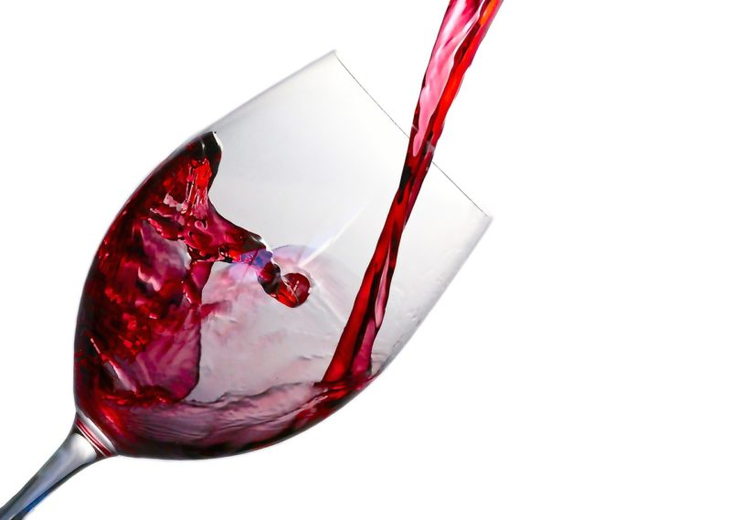 Pouring wine to a not emptied glass is an offence