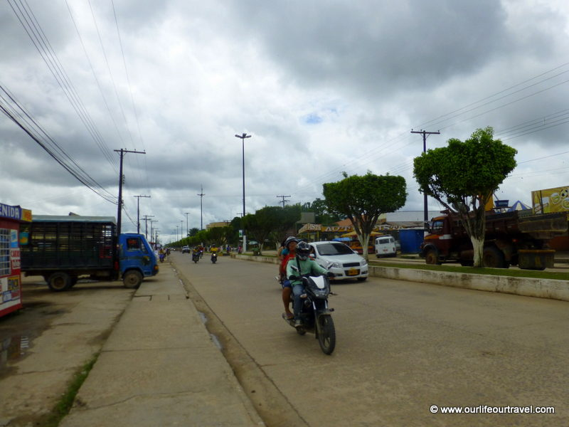 Roads are better in Leticia, Colombia.