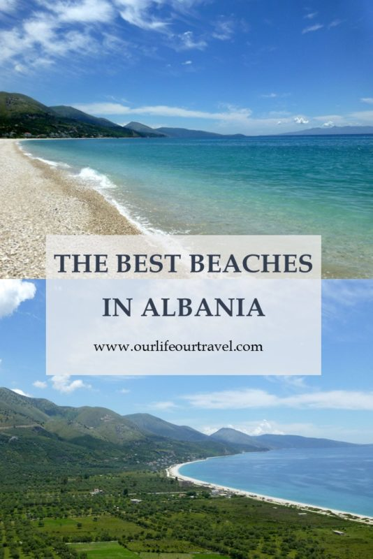Exploring the best beaches in Albania. The water is crystal clear, the coastline is stunning.
