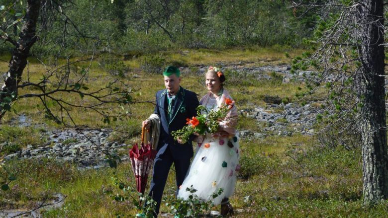 wedding lapland urho kekkoken national park