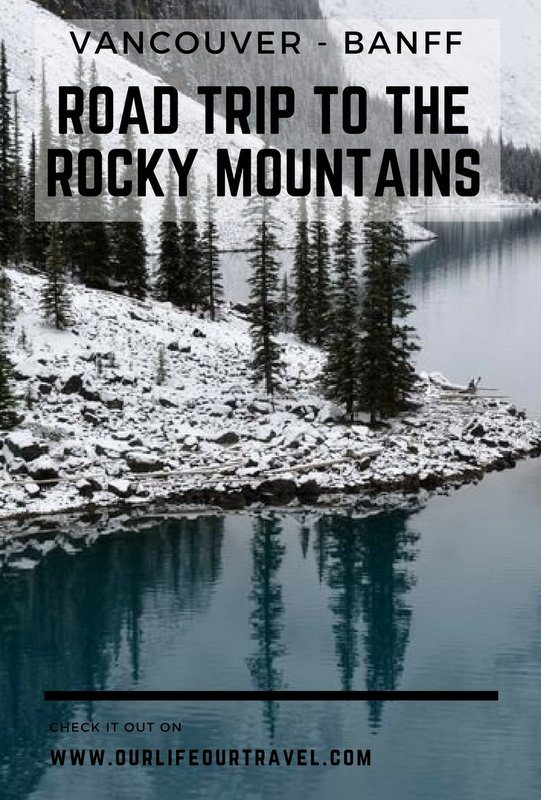 Road trip? Hiking trip? It can be both easily if you choose the Canadian Rockies as your destination.
