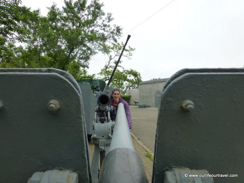 Playing with cannons, Vladivostok, Russia