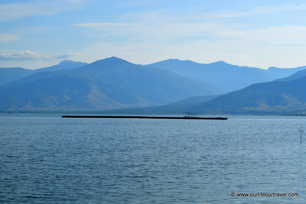Prespa Lake, the view from Greece
