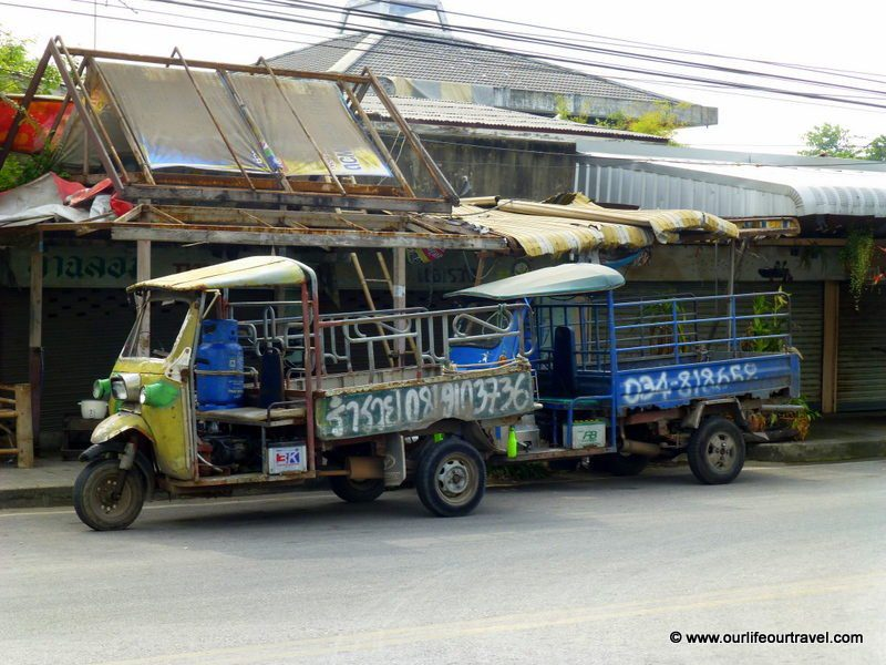 Local life in Thailand