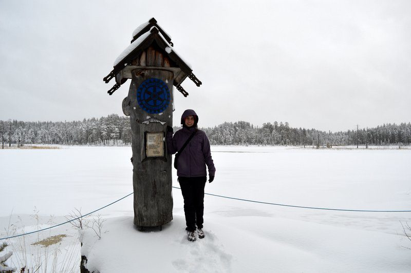 The easternmost point of Finland (and the continental EU) - near Ilomantsi