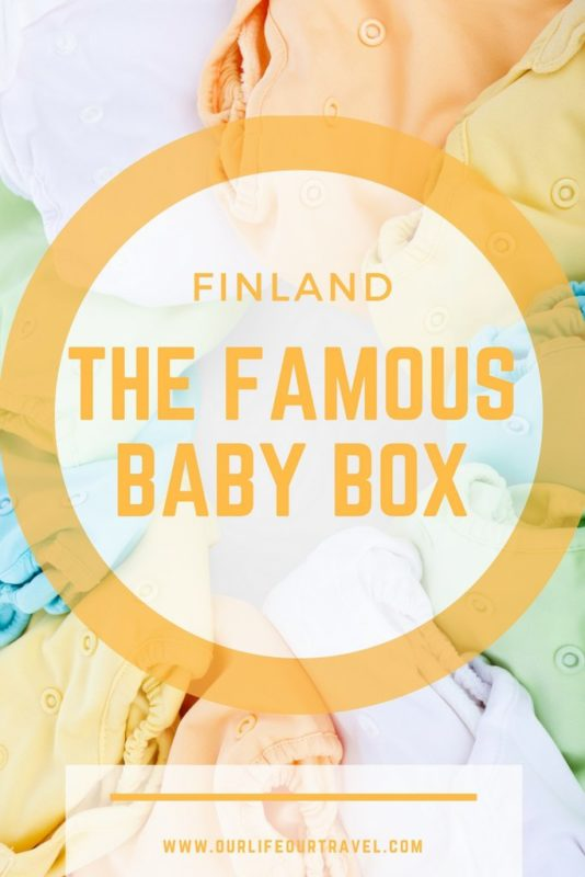 The famous Finnish Baby Box content and my experience of Finnish healthcare as a foreigner. Giving birth abroad was the best choice. #finland #baby #box #birth #rovaniemi