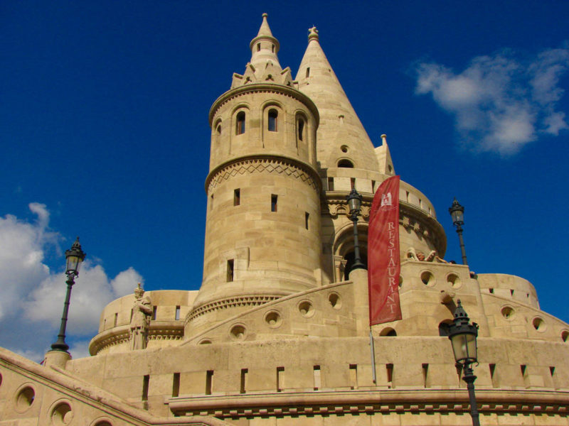 The Fisherman's Bastion in Budapest Castle - Must See Attraction during 3 days in Budapest