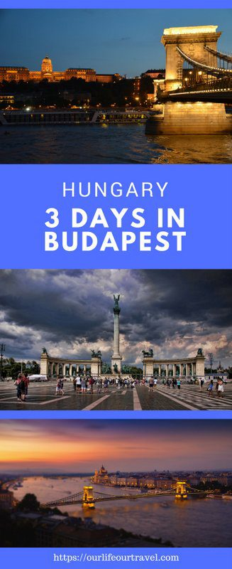 3-Days Guide to Budapest, Hungary   Best sights and local tips. #budapest #travel #hungary #3days