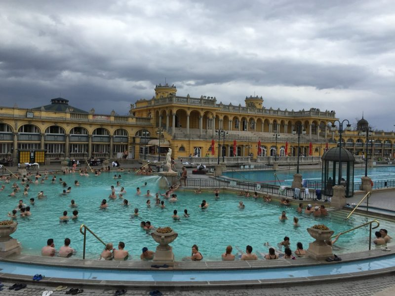 Széchenyi Bath at City Park, Budapest. Best Thermal Baths in Hungary
