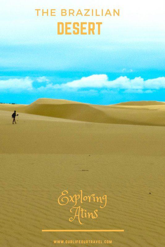 Sad dunes in Brazil: Lençois Maranhenses National Park #atins #brasel #desert #trip #nationalpark