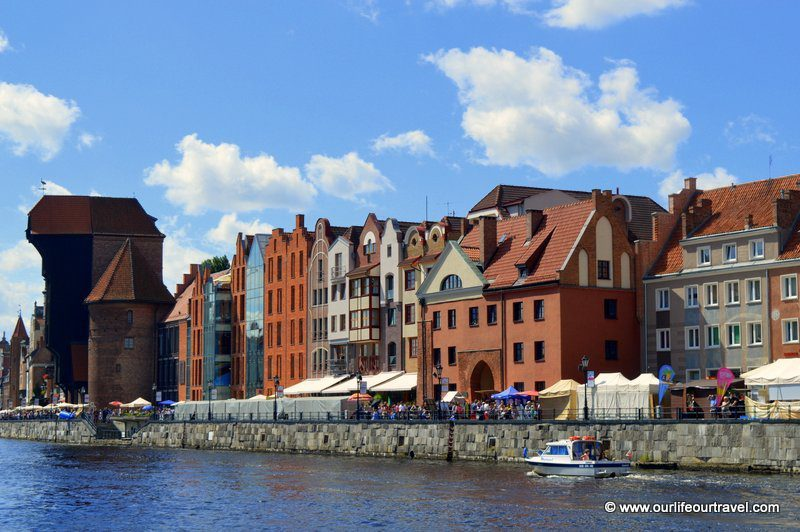 Sightseeing in Gdansk old town, Poland