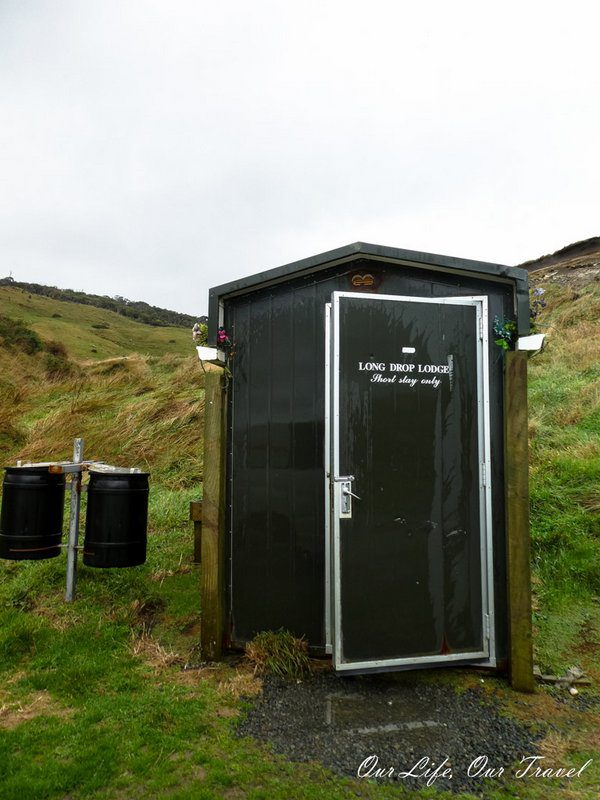 Long drop lodge - Short Stay Only (Drop Down Toilet in New Zealand)