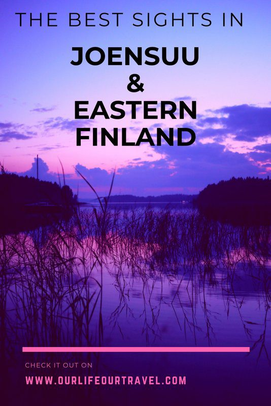 The best sights to visit in Joensuu and Eastern Finland. The easternmost point of the EU, national parks, museums, and even the famous Ilosaari rock music festival made it to the list. Nature and history lovers, add it to your bucket list! #finland #joensuu