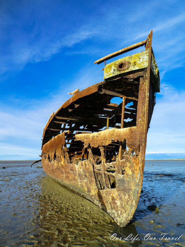 Abandoned ship in NZ