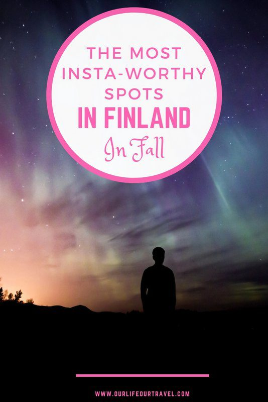 The Most Instagram Worthy Photo Spots in Finland in Fall. Northern Lights | Autumn | Photography | Lapland | Ruska #finland #lapland #autumn #fall #instagram