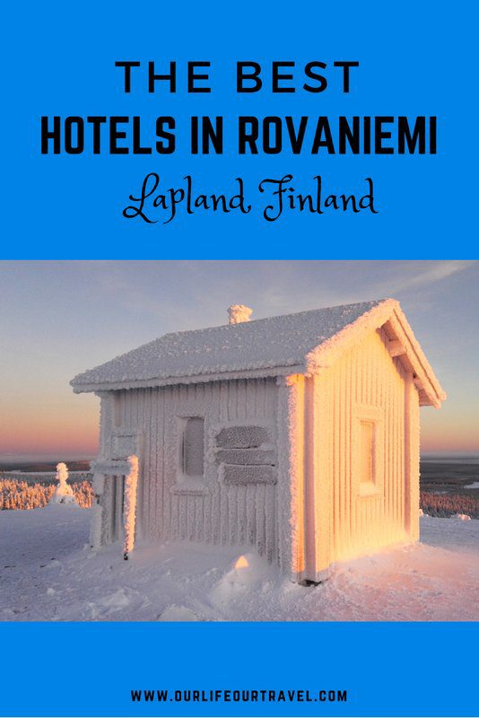 The best hotels in Rovaniemi - Lapland - Finland during the winter. Accommodation   Glass Igloos   Northern Lights   #rovaniemi #hotels #luxury #winter