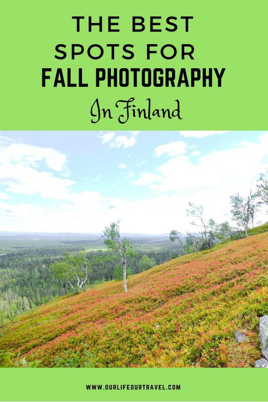 The Best Photo Spots in Finland to Capture Fall Colors. Northern Lights | Autumn | Photography | Lapland | Ruska #finland #lapland #autumn #fall #instagram