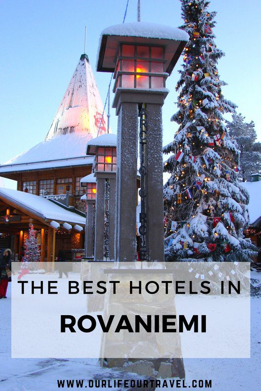 The best hotels in Rovaniemi - Lapland - Finland during the winter. Accommodation   Glass Igloos   Northern Lights   #rovaniemi #hotels #luxury #winter #arcticcircle
