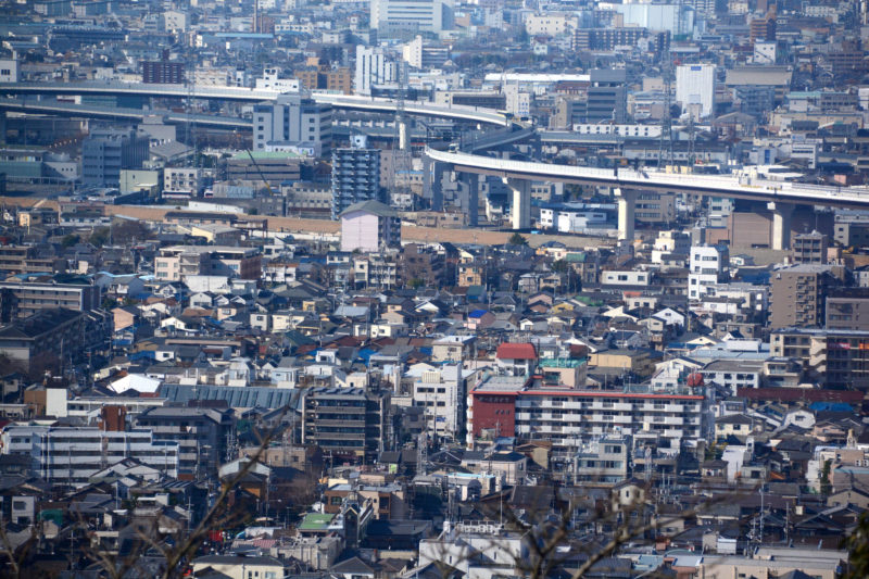 The city of Daimonji