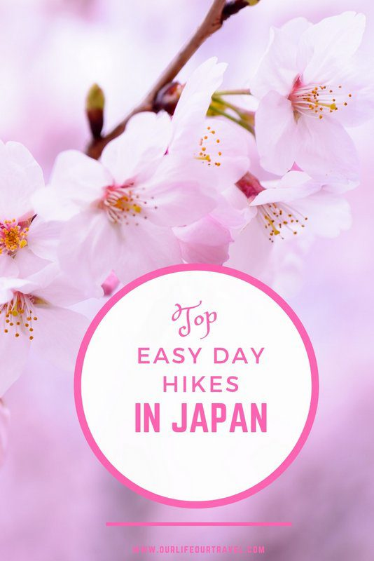 The Top Day Hikes from Japananese Cities   Easy Hikes in Japan   Day Hikes from Tokyo Kyoto Osaka #hiking #hikes #japan #easy