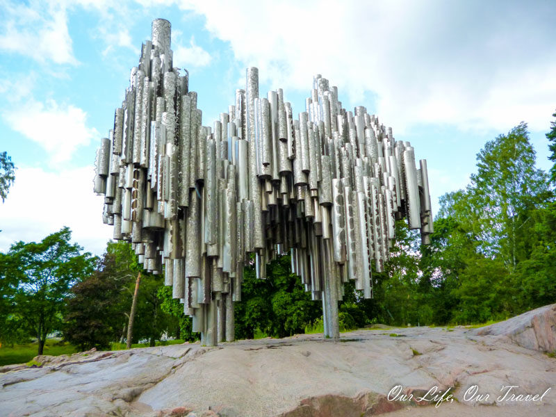 Sibelius Monument, Finland | Best places to see in Helsinki