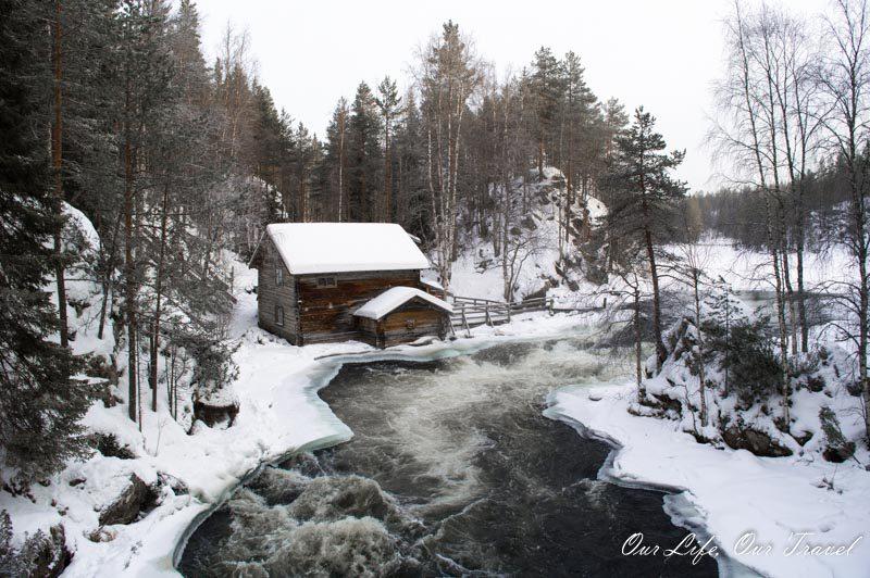 Myllykoski Watermill in Oulanka National Park