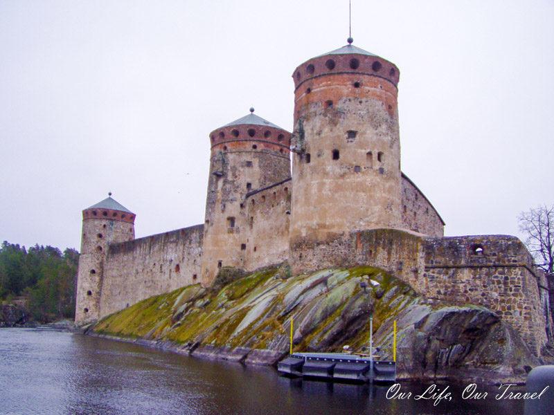 The best medieval castle in Finland. OlavinlinnaCastle, Savonlinna