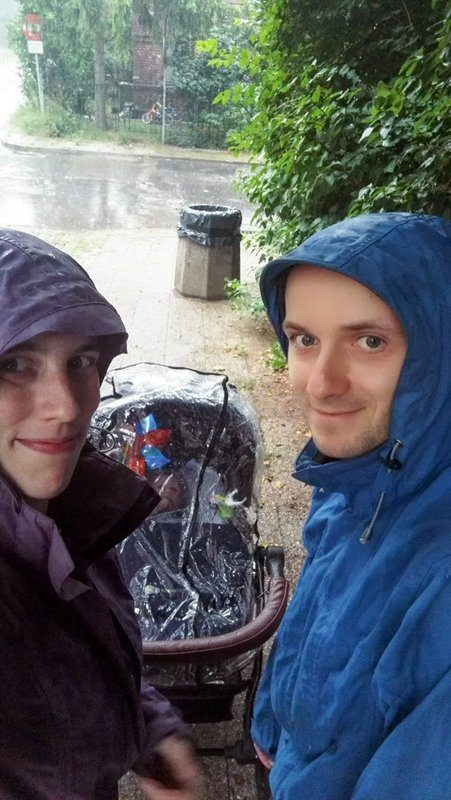 Even soaking in the rain is fun with your family - Gdansk Adventures