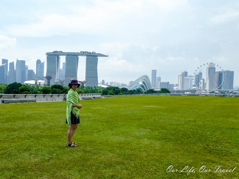 Marina Barrage and one of the best views in Singapore