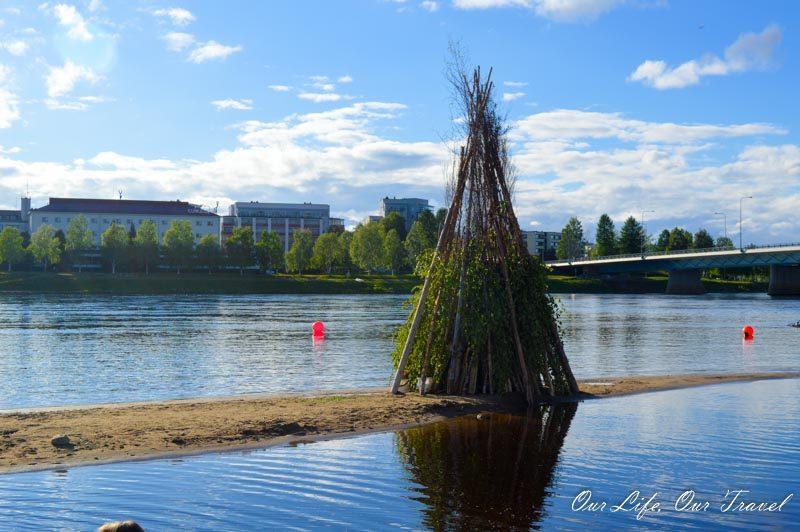 Juhannus in Rovaniemi