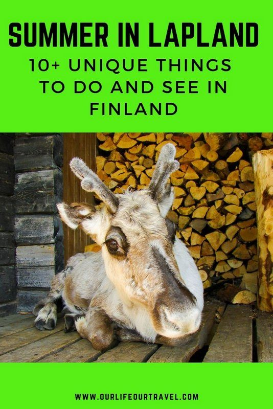 Summer in Lapland | Summer activities in Finnish Lapland | Things to do in Summer in Lapland | Best sights in Lapland in June July and August | Reindeer | Midnight Sun | White Nights | Sauna | Hiking in Finnish National Parks | Lappish Landscape #lapland #summer #finland