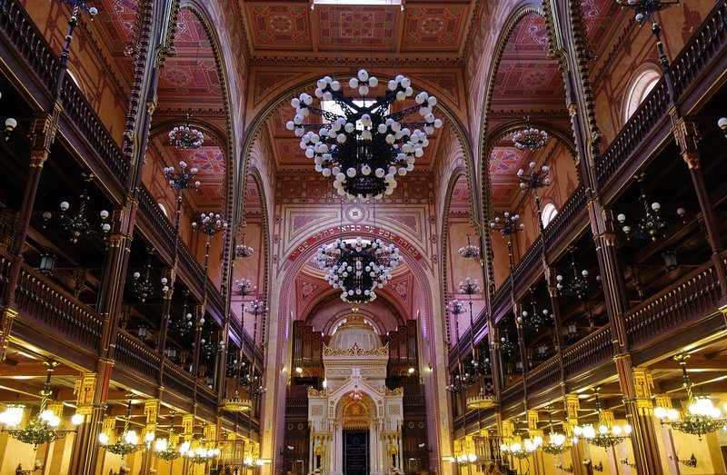 The biggest synagogue in Europe: Dohany StreetSynagogue