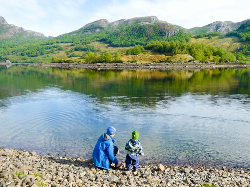 Family travel in Norway