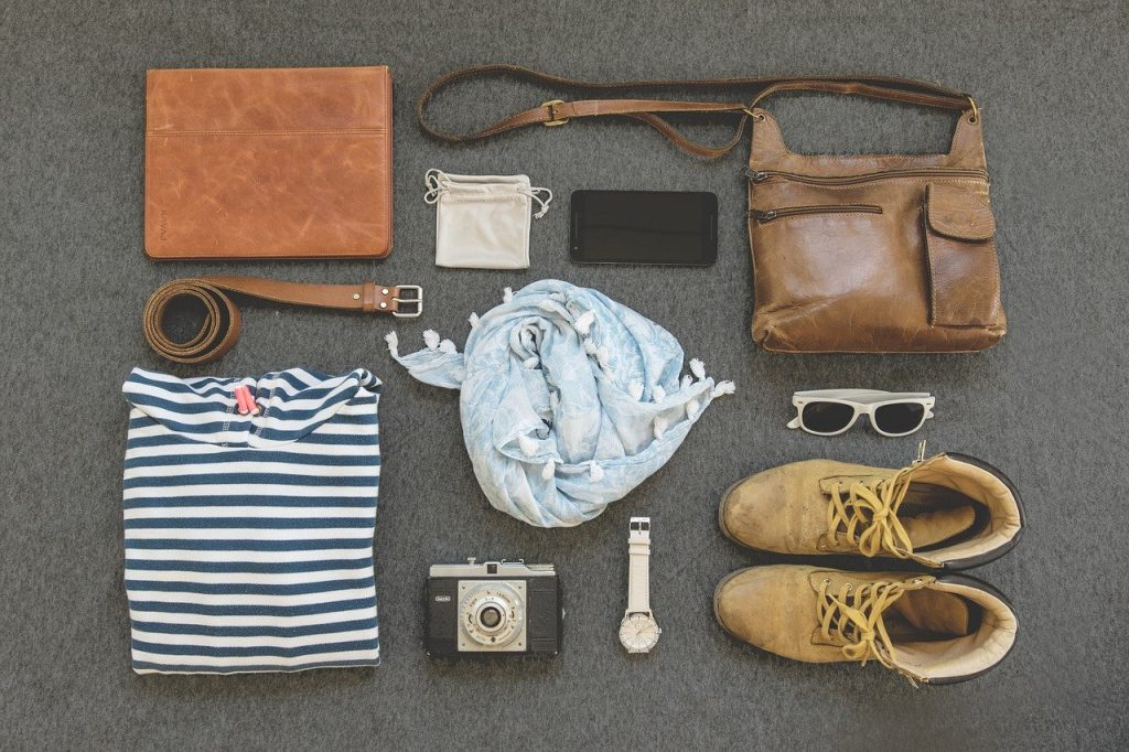 road trip essential items for a packing list