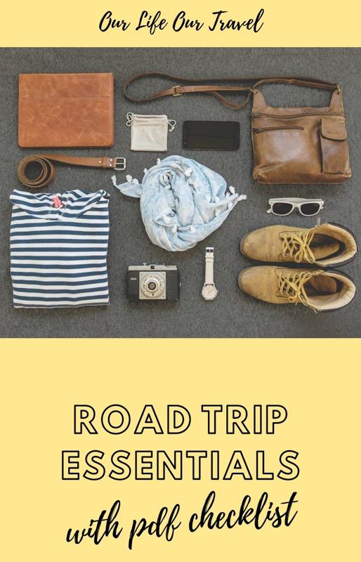 road trip essential items