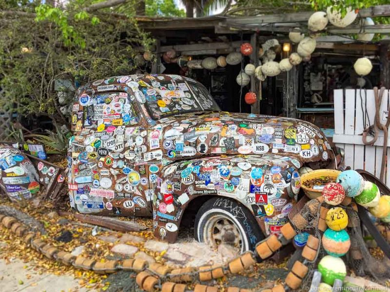 Colorful Truck between Miami Key West Florida