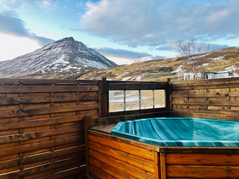 Nature house in Olafsfjordur - Iceland jacuzzi