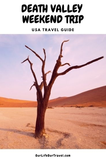 weekend in the Death valley California pinterest imagine with the desert.